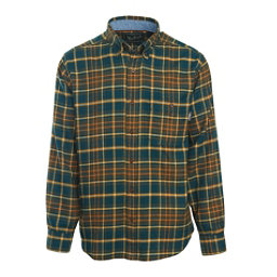 Woolrich Trout Run Flannel Mens Shirt, Abyss, 256