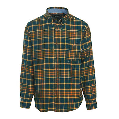 Woolrich Trout Run Flannel Mens Shirt, Abyss, viewer