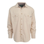 Woolrich Midway Solid Mens Shirt, Khaki, medium