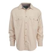 Woolrich Midway Solid Mens Shirt, Khaki, medium