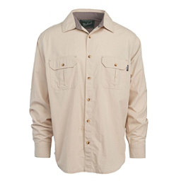Woolrich Midway Solid Mens Shirt, Khaki, 256