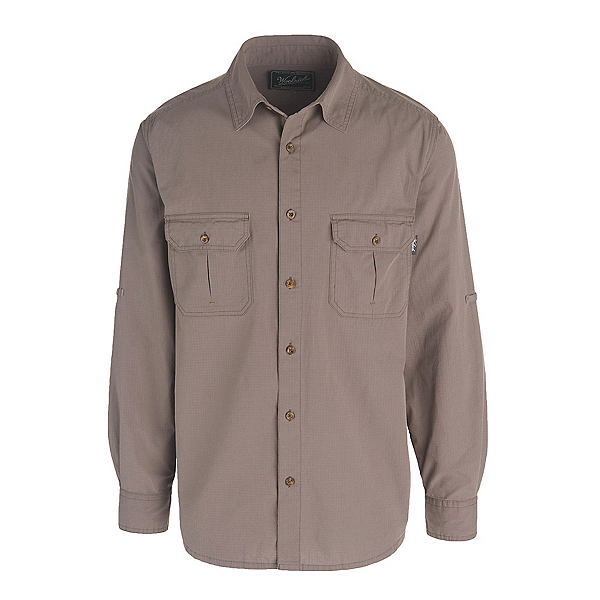Woolrich Midway Solid Mens Shirt, Slate, 600