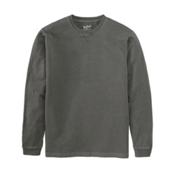Woolrich First Forks Long Sleeve Mens T-Shirt, Slate, medium