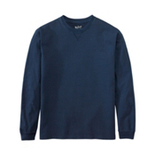 Woolrich First Forks Long Sleeve Mens T-Shirt, Deep Indigo, medium