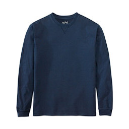 Woolrich First Forks Long Sleeve Mens T-Shirt, Deep Indigo, 256