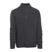Woolrich The Woolrich Mens Sweater, Charcoal Heather, medium