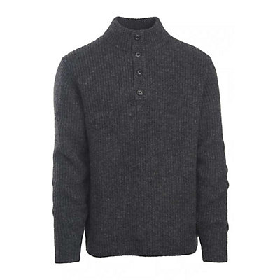 Woolrich The Woolrich Mens Sweater, Charcoal Heather, viewer