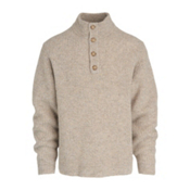 Woolrich The Woolrich Mens Sweater, Oatmeal Heather, medium