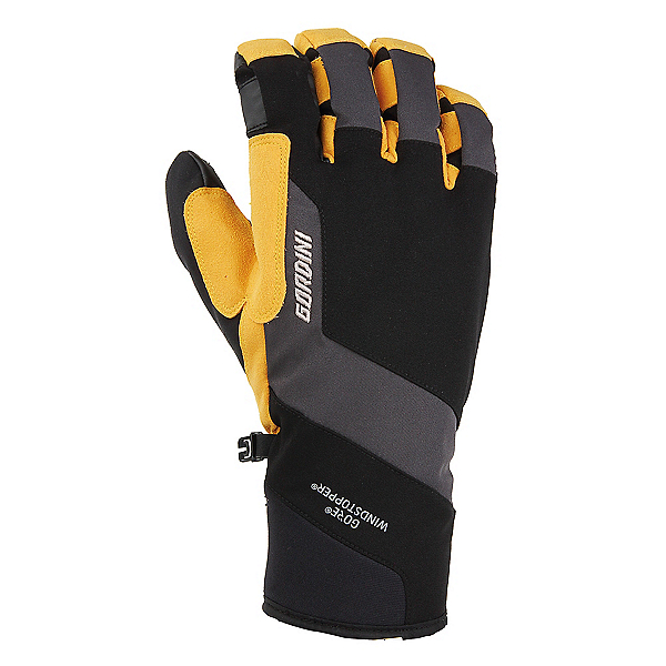 Gordini Swagger II Gloves, Black-Gunmetal-Wheat, 600