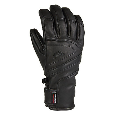 Gordini DT Leather Gloves, Black, viewer