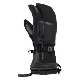Gordini Fuse Three Finger Gloves, Black, 256