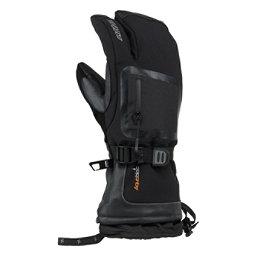 Gordini Fuse Three Finger Gloves, Black, 256