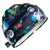 Turtle Fur Brain Shroud Kids Hat, Planetary Pinball, medium