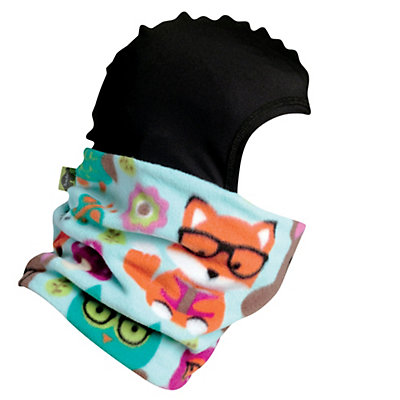 Turtle Fur Shellaclava Kids Balaclava, Violet Flutter, viewer
