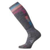 SmartWool PhD Ski Light Elite Womens Ski Socks, Medium Gray, medium