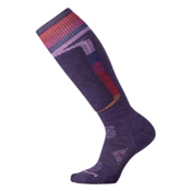 SmartWool PhD Ski Light Elite Womens Ski Socks, Mountain Purple, medium