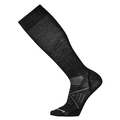 SmartWool PhD Ski Ultra Light Ski Socks, Black, viewer