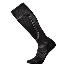 SmartWool PhD Ski Light Ski Socks, Black, 256