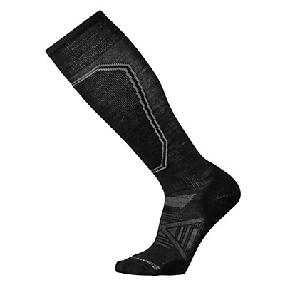 SmartWool PhD Ski Light Ski Socks, Black, viewer