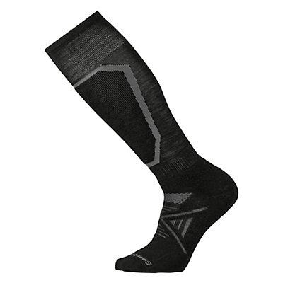 SmartWool PhD Ski Medium Ski Socks, Black, viewer
