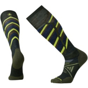 SmartWool PhD Ski Medium Pattern Ski Socks, Forest, medium