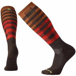 SmartWool PhD Slopestyle Light Ifrane Snowboard Socks, Chestnut, 256