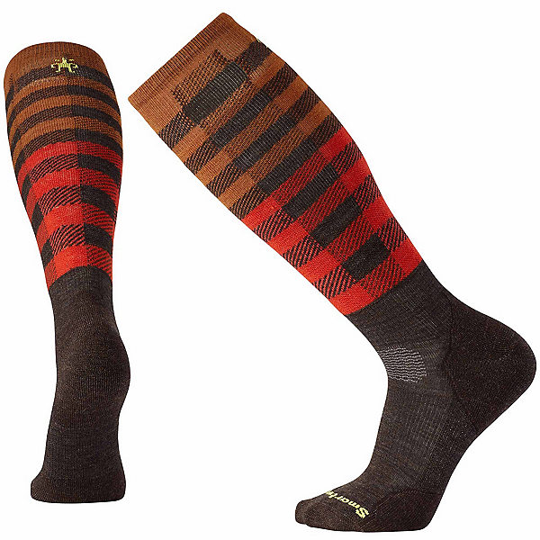 SmartWool PhD Slopestyle Light Ifrane Snowboard Socks, Chestnut, 600