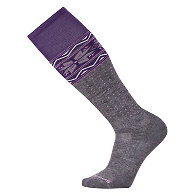 SmartWool Slopestyle Medium Wenke Womens Snowboard Socks, Medium Gray, viewer