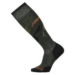 SmartWool Slopestyle Light Revelstoke Snowboard Socks, Forest, 256