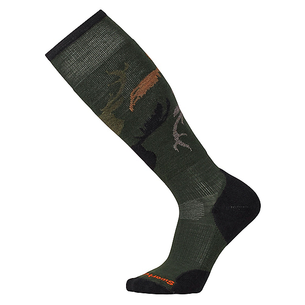 SmartWool Slopestyle Light Revelstoke Snowboard Socks, Forest, 600