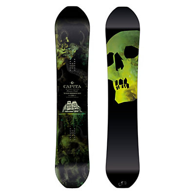 Capita Black Snowboard of Death Snowboard 2017, 159cm, viewer
