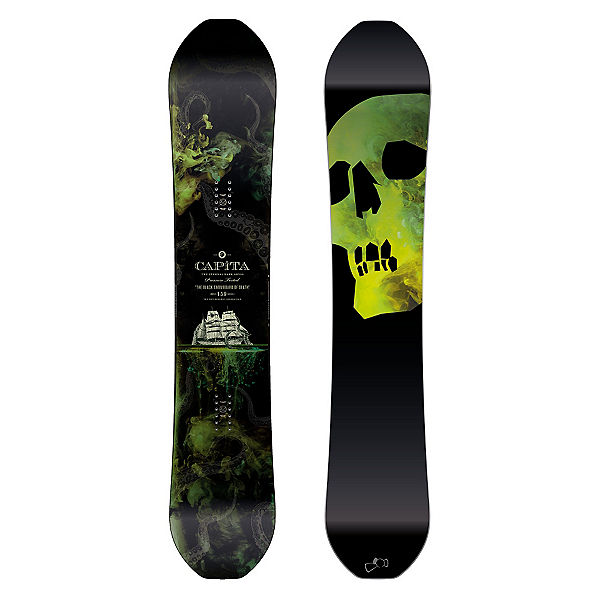 Capita Black Snowboard of Death Snowboard 2017, , 600