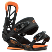 Union Cadet Kids Snowboard Bindings 2017, Black-Orange, medium
