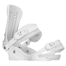 Union Force Snowboard Bindings 2017, White, 256