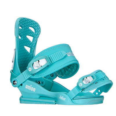 Union Juliet Womens Snowboard Bindings 2017, Aqua, viewer