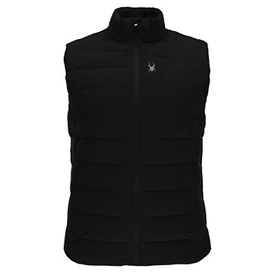 Spyder Dolomite Mens Vest, Black-Cirrus, viewer
