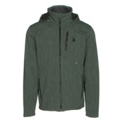 Spyder Patsch Novelty Mens Soft Shell Jacket, Albion Green-Black, medium