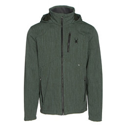 Spyder Patsch Novelty Mens Soft Shell Jacket, Albion Green-Black, 256