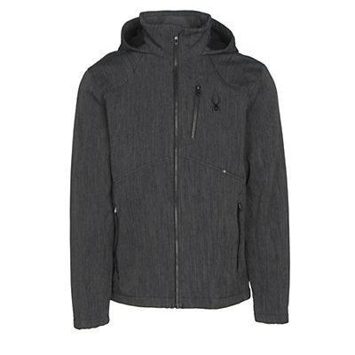 Spyder Patsch Novelty Soft Shell Jacket, Black-Black, viewer