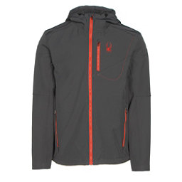 Spyder Patsch Hoody Mens Soft Shell Jacket, Polar-Rage, 256