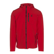 Spyder Patsch Hoody Mens Soft Shell Jacket, Red-Black, medium