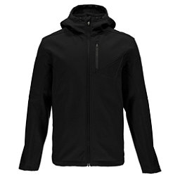 Spyder Patsch Hoody Mens Soft Shell Jacket (Previous Season), Black-Polar, 256