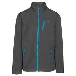 Spyder Fresh Air Mens Soft Shell Jacket, Polar-Electric Blue, 256