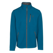 Spyder Fresh Air Mens Soft Shell Jacket, Concept Blue-Polar, medium