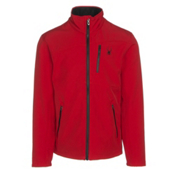 Spyder Fresh Air Mens Soft Shell Jacket, Red-Black, medium