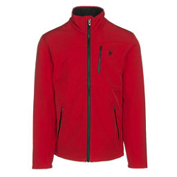 Spyder Fresh Air Mens Soft Shell Jacket, Red-Black, 256