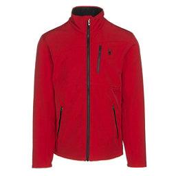 Spyder Fresh Air Mens Soft Shell Jacket, Red-Black, 256