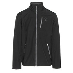 Spyder Fresh Air Mens Soft Shell Jacket, Black-Polar, 256