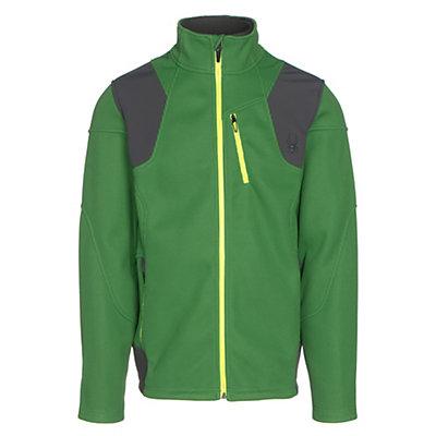 Spyder Legend 3L Mid WT Mens Sweater, Blade-Polar-Bryte Yellow, viewer