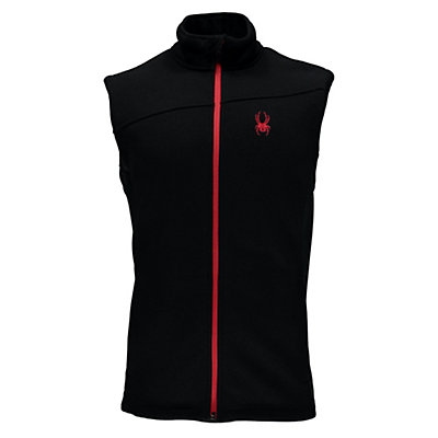 Spyder Constant Mid WT Mens Vest, Black-Red, viewer